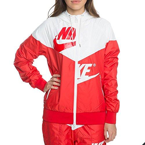 NIKE Womens W NSW WR JKT GX AJ2974 Sail University Red/University Red cheap sale tumblr cheap sale ebay clearance visit sale lowest price cheap sale really 9V8QyTrCjt