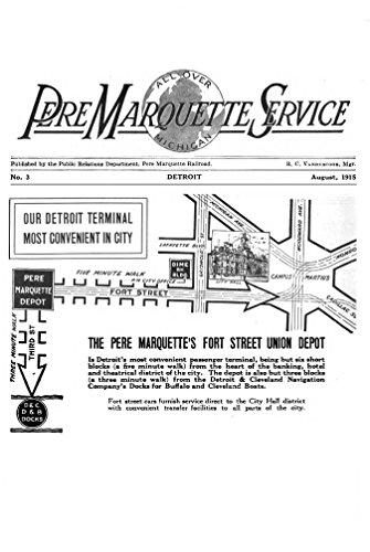 Railway Pere Marquette - Pere Marquette Service, v1, no3