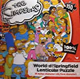The Simpsons World of Springfield Lenticular Puzzle