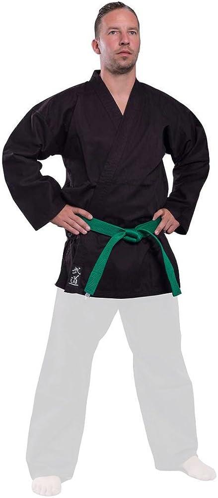 Budoten Karate-Jacke schwarz
