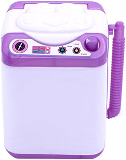 Silicone Mini Washing Machine Toy Doll House Furniture Gift Accessory Fashion