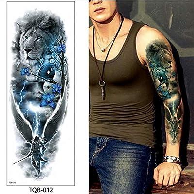 Handaxian Tatuaje de cráneo de Muerte a Prueba de Agua 3pcs ...