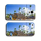 Kayaks, sailboats and catamarans for rent on Caribbean beach cell phone cover case iPhone6