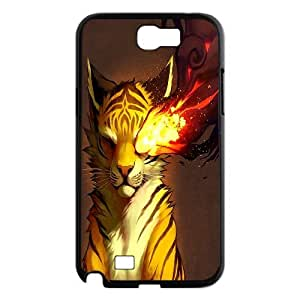 Wholesale Cheap Phone Case For Samsung Galaxy Note 2 Case -Animal Tiger Pattern-LingYan Store Case 14
