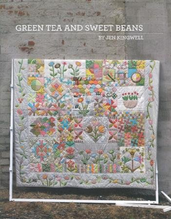 Green Tea and Sweet Beans Quilting Pattern Booklet By Jen Ki