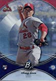 2016 Bowman Platinum #42 Seung-hwan Oh St. Louis Cardinals Baseball Rookie Card in Protective Screwdown Display Case