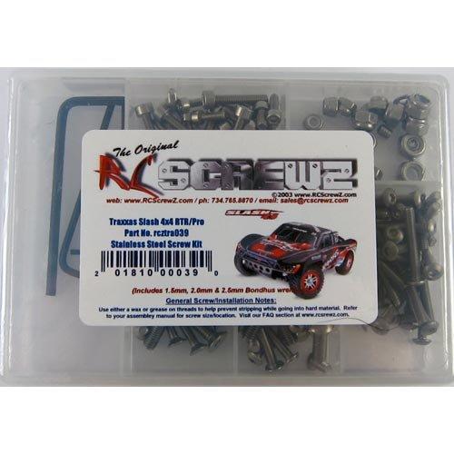 Rc Screwz Screw Set: SLH 4x4 RCZTRA039 by RC Screwz (Image #1)