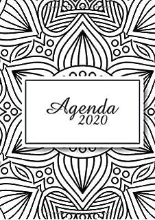 Agenda 2020: Tema Mandalas Agenda Mensual y Semanal + ...