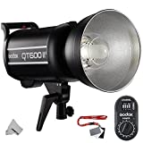 Fomito Godox QT-600IIM 600Ws 110V Multi-Freeze IGBT Studio Flash Strobe Light GN76 HSS Built-in 2.4G Wirless X System Radio Reciver + 433MHz FTR-16 Receiver for Canon Nikon Sony DSLR Camera