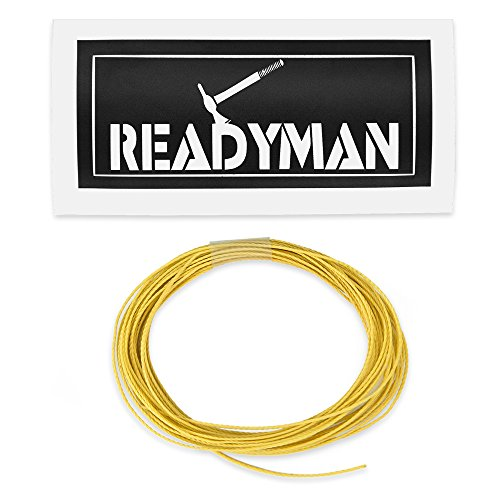 READYMAN Kevlar 75lb Line - Strongest Material, Extremely Versatile
