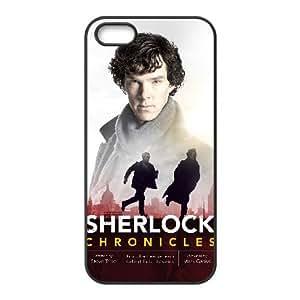 Sherlock iPhone 5 5s Cell Phone Case Black xlb-068732