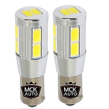 MCK Auto LTD 2700010002 H6 W bombillas laterales LED, set de 2 unidades, F30 F31 F34 Xenon Canbus BAX9S Ea4R1: Amazon.es: Coche y moto