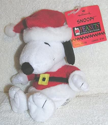 FREE SHIPPING! 8 SNOOPY PEANUTS Christmas Stocking Dog Toys Brand New