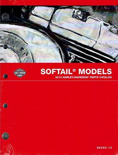 2014 Harley-Davidson Softail Models Parts Catalog, Part Number 99455-14 (Wiring Custom Motorcycle)