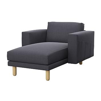Amazon.com: soferia – IKEA norsborg chaise longue Cover ...