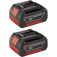 2-Pack Bosch Lithium Power Tool Batteries