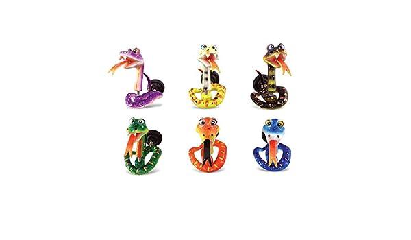 Puzzled serpiente borla de frigorífico imán (Set de 6): Amazon.es ...