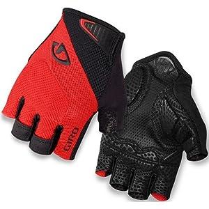 Giro GG20130 Mens Monaco Road Gloves, Red/Blk - XL