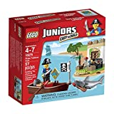 Best Bricks Set Of Pirates LEGOs - LEGO Juniors Pirate Treasure Hunt Set Review