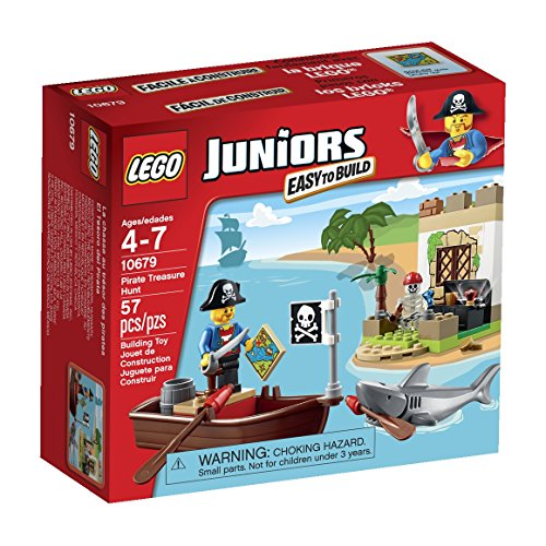 LEGO Juniors Pirate Treasure Hunt Set]()
