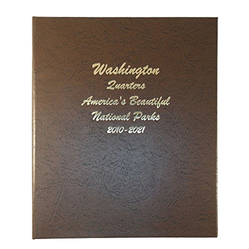 Dansco Us National Parks Quarter Coin Album 2010 2021  7145