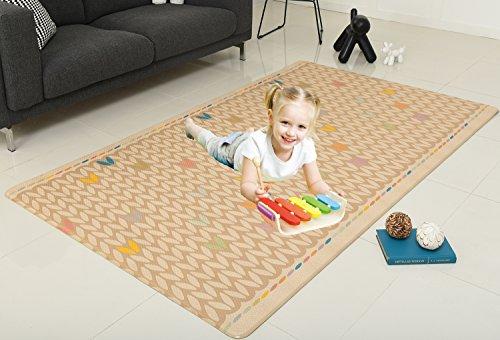 CrawLNRoll Eco-friendly Baby playmat_Flower Bud/Alphabet _Large
