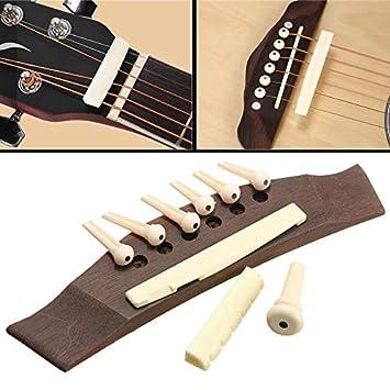 LaDicha 1 Juego De Guitarra Profesional Puente De Guitarra ...