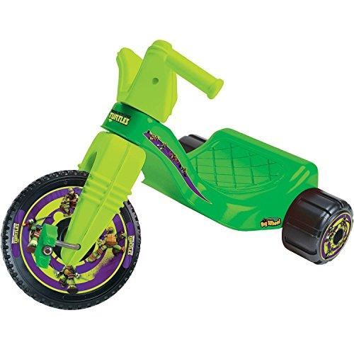 Big Wheel Junior Racer Teenage Mutant Ninja Turtles Ride On (Teenage Mutant Ninja Turtles 3 Wheel Scooter)