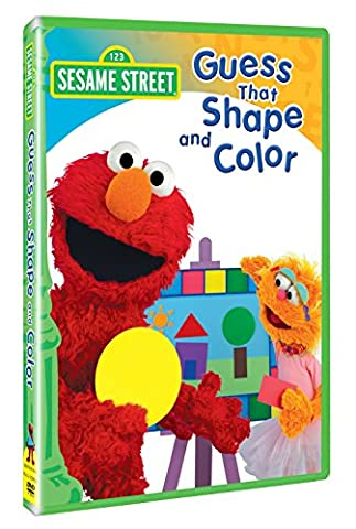 Sesame Street: Guess That Shape and Color (Exchange Valentines For Kids)