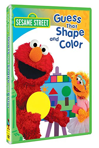 Sesame Street: Guess That Shape and Color (Cartoon Star Dolls)