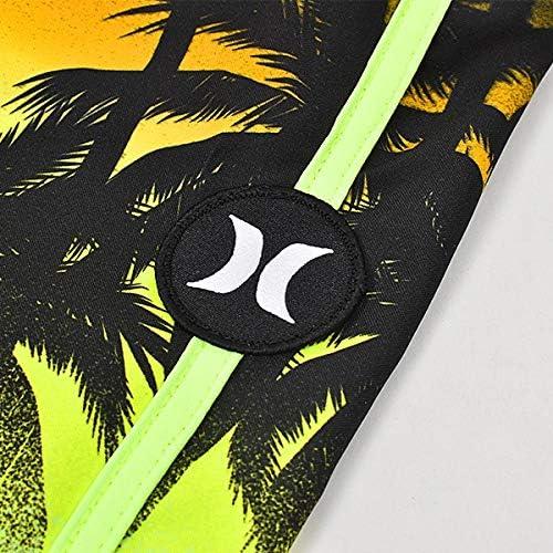 (ハーレー) キッズ ジュニア 男の子 子供 BOYS LA PLAYA ブラック 黒 ボードショーツ 海パン サーフパンツ cu3903-060