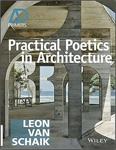 Amazon Com Practical Poetics In Architecture Architectural