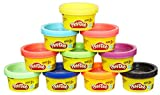 Play-Doh 22037EU6 10 Tub Party Pack Tube, Multicolour