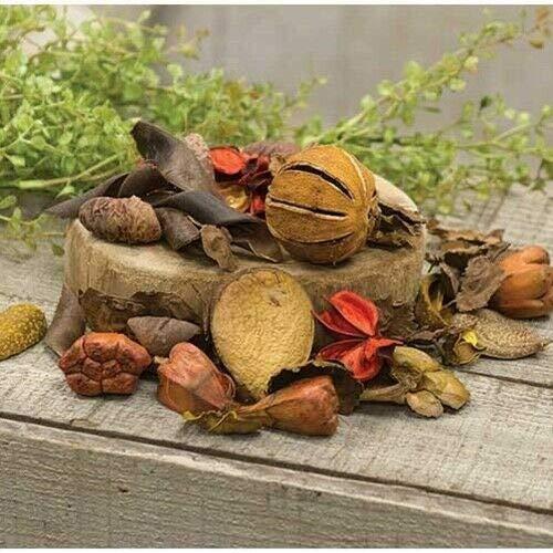 타카준 꽃 장식 국가 원시 소박한 가을 오렌지 버스트 냄비 POURRI 원시 가을 장식 크리스마스 장식을위한 말린 과일 그릇 채우기에 대한 공급