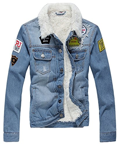 AvaCostume Winter Fleece Lined Jacket