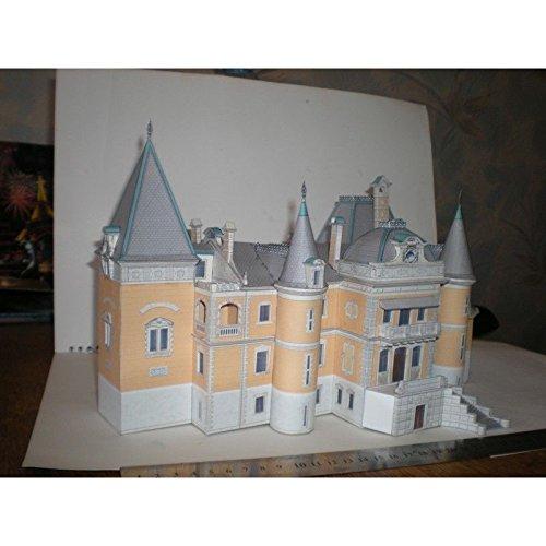 PAPER MODEL KIT ARCHITECTURE MASSANDRA PALACE 1/150 CRIMEA 1881-1902 OREL 183