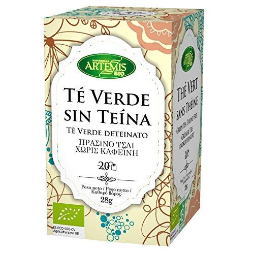 ArtemisBio Te Verde Descafeinado - 20 Infusiones