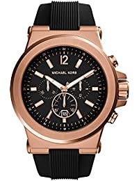 MK8184 Mens Classic Watch Dial: Black chronograph