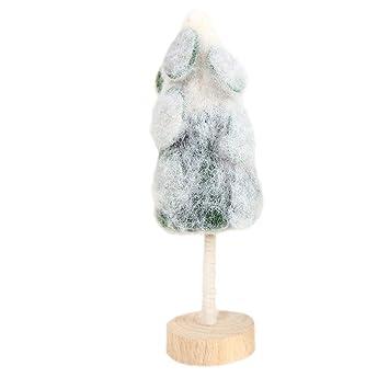 Amazon.com: Succper - Mini árbol de Navidad con cepillo para ...