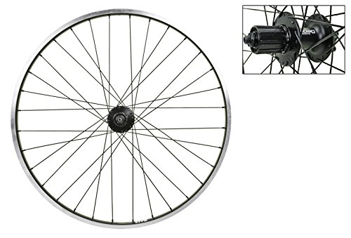 Wheel Rear 26 x 1.5 Sun RhynoLite, Blk, Deore M525 Disc 9sp, 2.0 Blk SS Spokes, 32H