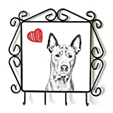 Thai Ridgeback, clothes hanger with an image of a dog and heart