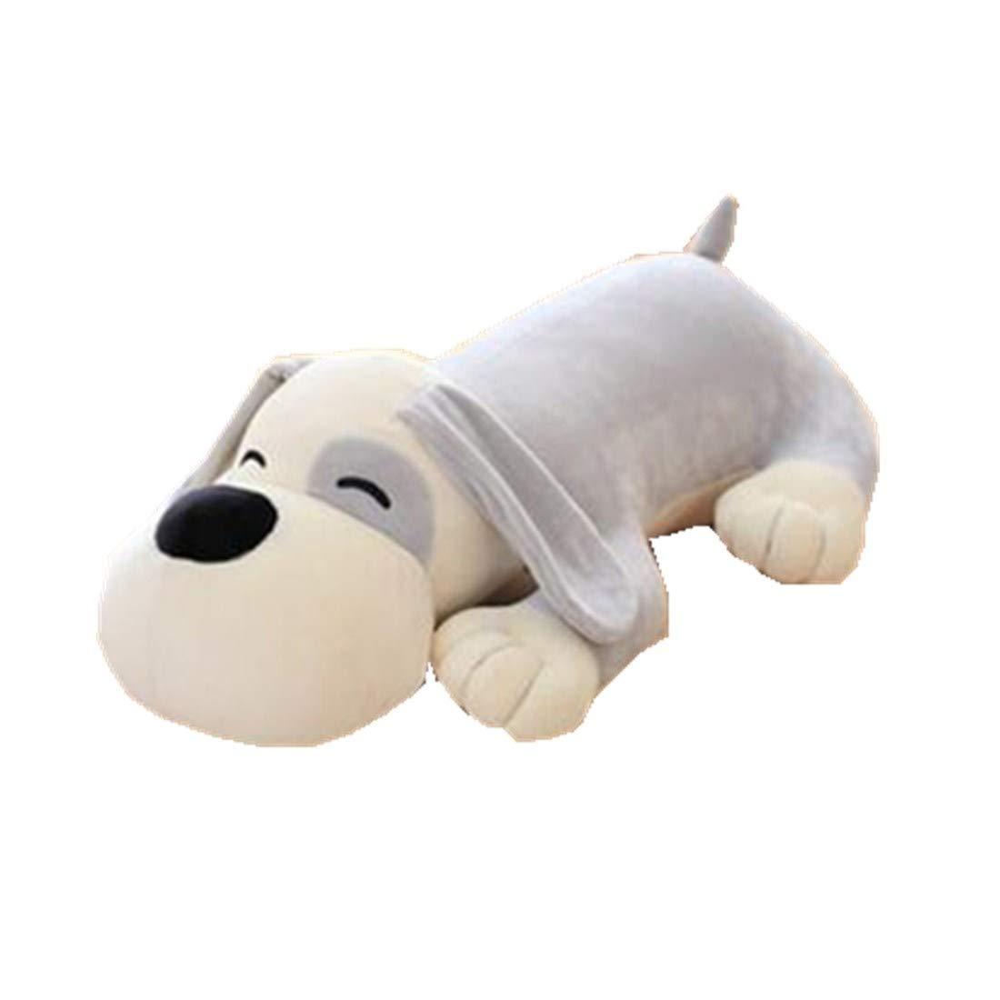 Cartoon Animal escalada perro cojín respaldo almohada oficina hogar almohada peluche, algodón, gris, 50cm Fat rabbit