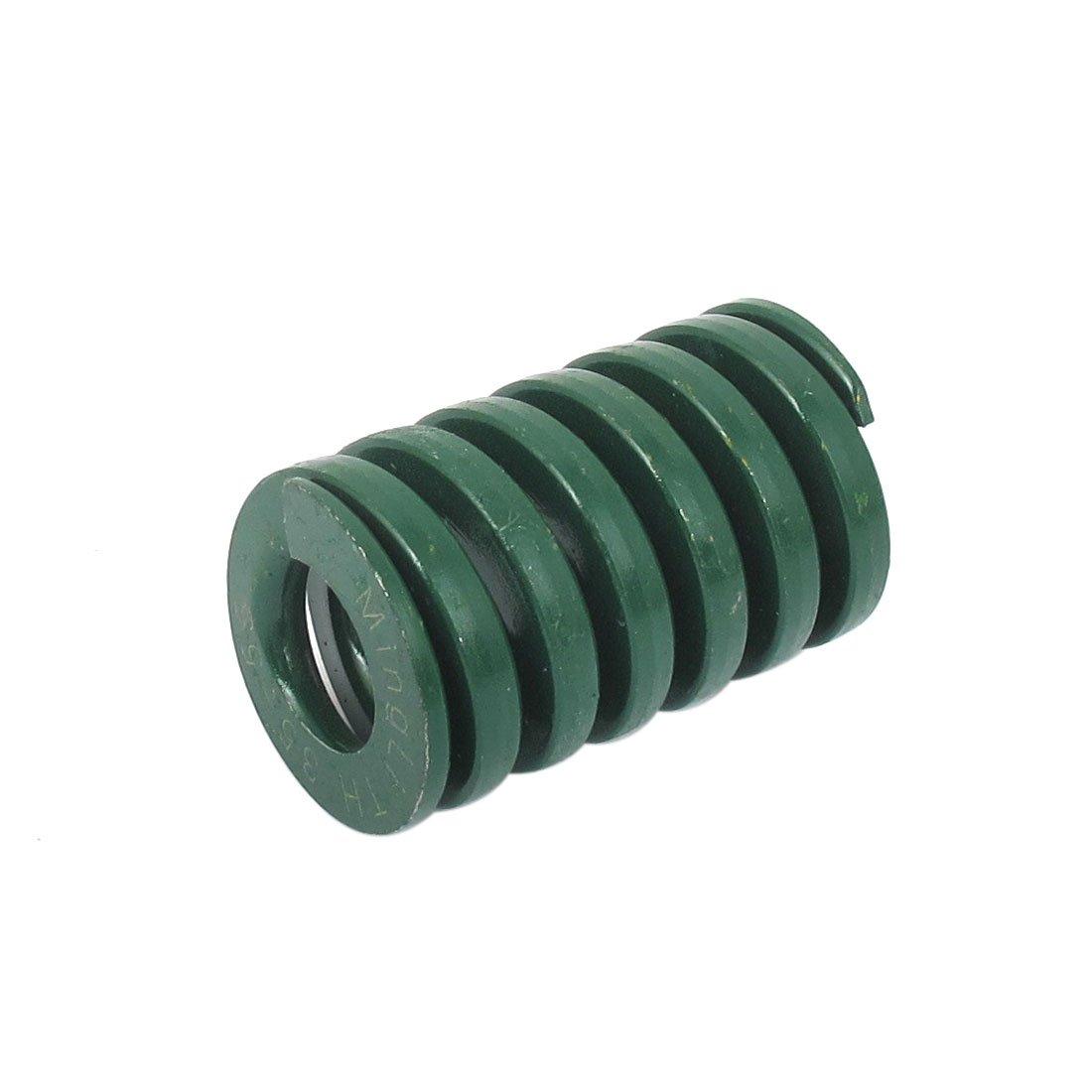 sourcingmap® 35mm OD 55mm lange schwere Last Spiral Stanzen Kompression Die Feder grün sourcing map a15102700ux0842