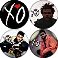 The Weeknd Buttons Badges/Pin 1.25 Inch (32mm)
