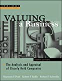 Valuing a Business: 4th (fourth) edition