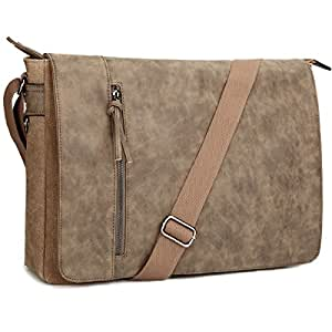 Amazon.com  Laptop Messenger Bag 16.5 inch for Men and Women 0e27bf2ccebc3