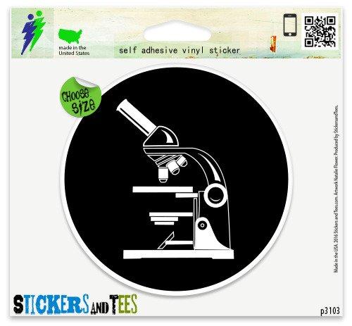 Microscope Science Vinyl Car Bumper Window Sticker 2