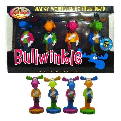 Bullwinkle 2007 Comic Con Exclusive Bobblehead Wacky Wobbler Pop Art Limited to ()