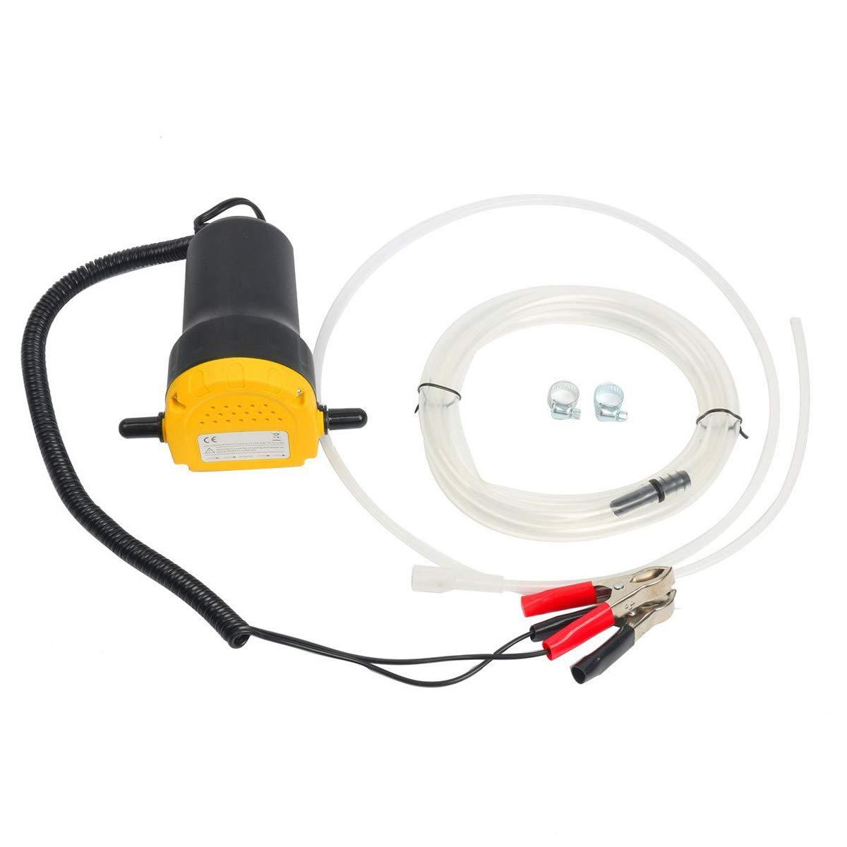 FreeTec Pompa Estrattore Per Aspirazione Olio Motore e Gasolio Pompa di Aspirazione dell' olio, 60W 12V freebirdtrading FT0140