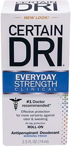 Deodorant: Certain Dri Everyday Strength